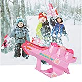COLOR TREE Snow Trac-Ball Outdoor Sport Game Snowball Maker, Winter and Summer Play