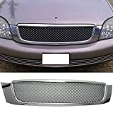 00-05 Cadillac Deville Front Mesh Sport Grille Grill Kit Chrome