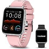 Smartwatch Pulsera Inteligente, MTQ Reloj Inteligente Deportivo, Reloj Deportivo Pantalla Táctil de 1.4 Pulgadas Impermeable