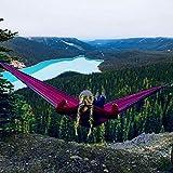 Double & Single Camping Hammock - Portable