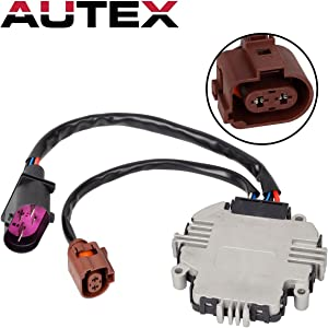 Cooling Fan Control Module Replacement for Audi A3 2006 2007 2008 2009 2010 2011 2012 2013/compatible with VOLKSWAGEN Beetle 2012/Audi TT 2007 2008 2009 2010 2011 2012 2013 2014 2015