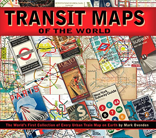 Atlas Rare Map Railroad (Transit Maps of the World: The World's First Collection of Every Urban Train Map on Earth)