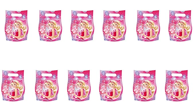 Barbie 2512; Pack 12 Bolsas para chuches o Juguetes Ideal ...