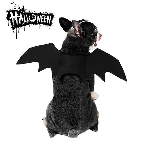 MMNM Disfraz De Halloween para Mascotas - Alas De Murciélago De ...