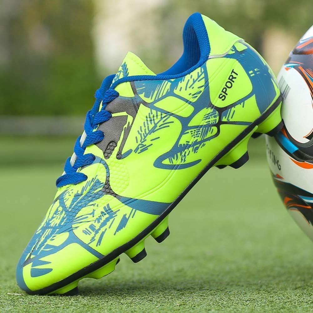 LYLZR Chaussures de Football pour Enfants et Adultes