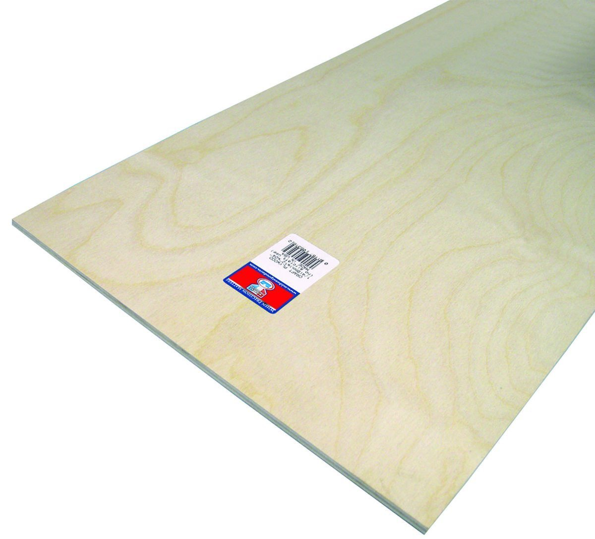 Midwest Products 5316 Craft Plywood, 12 by 24 by 0.25-Inch, 6-Pack by Midwest Products Co.