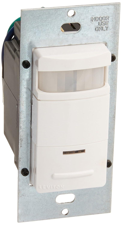 Leviton ODS10-IQW Decora Wall Switch Occupancy Sensor, White