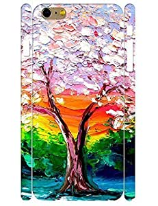 3D Print Treasure Design Cute Tree of Life High Impact iphone 4 4s Phone Hard Case