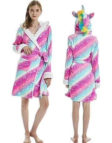 Nifty Bambini Con Cappuccio Cuore Vestaglia Ragazze in Pile Morbido Accappatoio abbigliamento