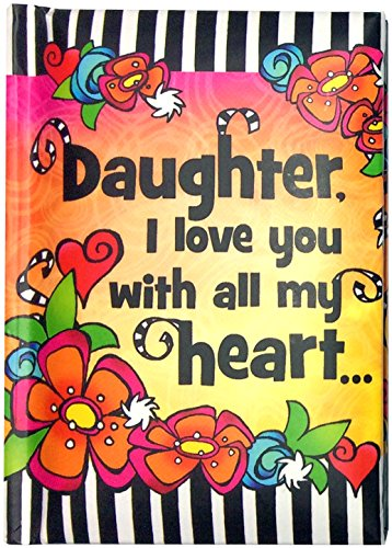 Little Keepsake Book: Daughter, I Love You with All My Heart, 3 x 4