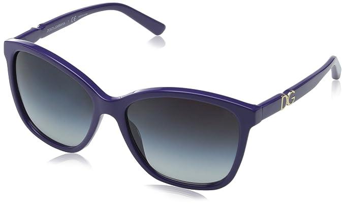 Dolce & Gabbana Gafas de Sol DG4170P ICONIC LOGO: Amazon.es ...