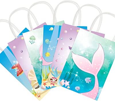 12 Mermaid Stationery Sets Favors Gift Prizes Under The Sea Birthday Party Event