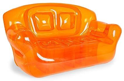 Amazon Com Bubble Inflatables Inflatable Couch Tangerine Orange