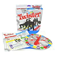 Twister Game Funny Body Twister Moves Mat Board Game Kids Learning Toys - Outdoor Indoor Multiplayer Family Party Game (6 Inch)