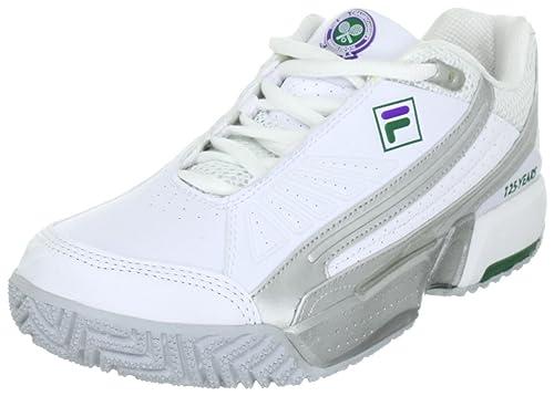 125 HcScarpe Da Fila Alfa Unisex Wimbledon Tennis AdultoBianco 80PkOnw