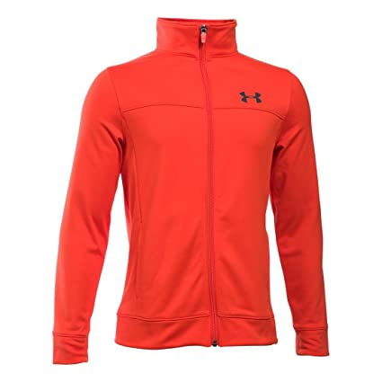 Amazon.com   Under Armour Boys  Pennant Warm Up Jacket   Sports ... 4e4d21af4