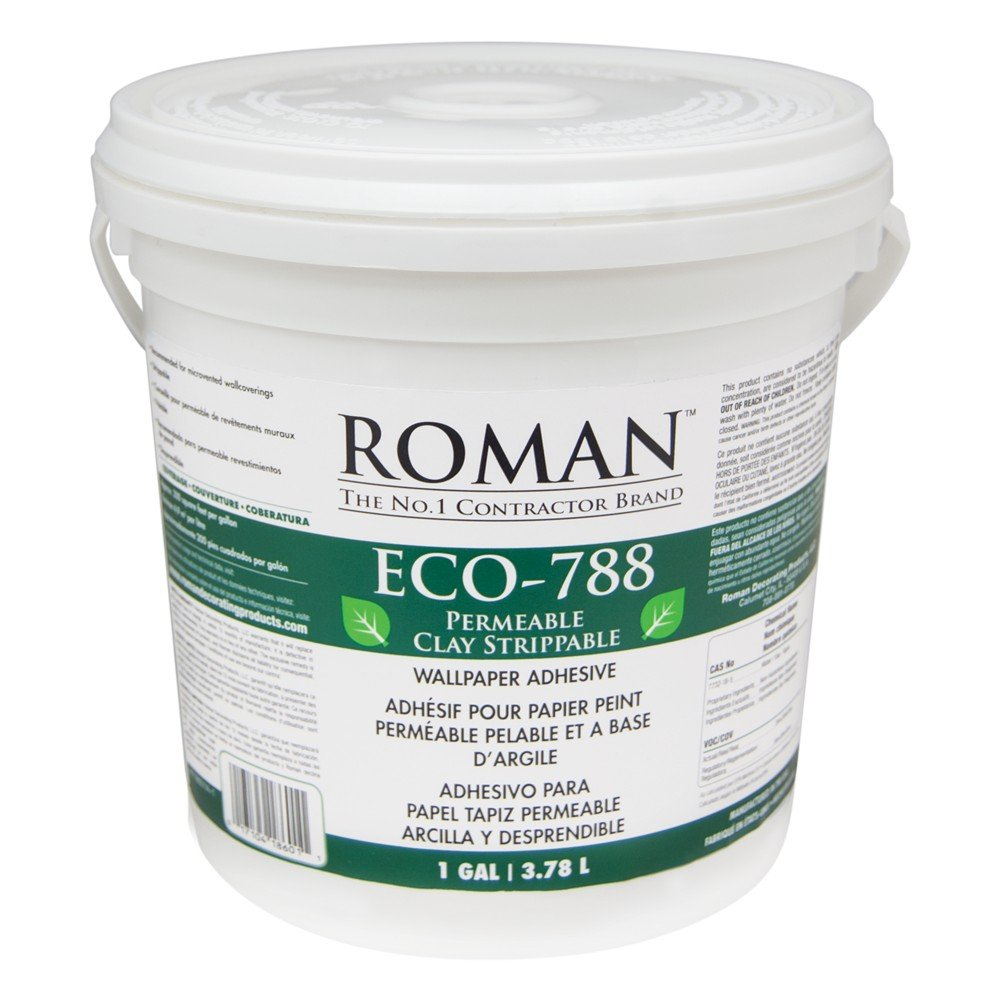 Roman 018601 ECO 788 1 gal Clay Strippable Adhesive