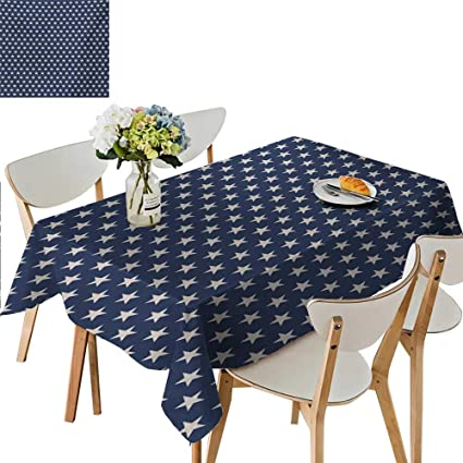 Pleasant Amazon Com Star Tablecloth Patriotic Star Of The American Onthecornerstone Fun Painted Chair Ideas Images Onthecornerstoneorg