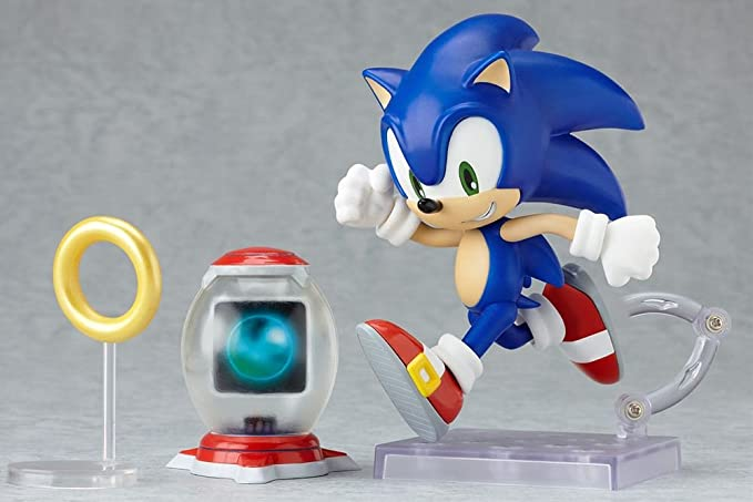 Good Smile C Sonic The Hedgehog Nendoroid 4 Inch Poseable Pvc Figure