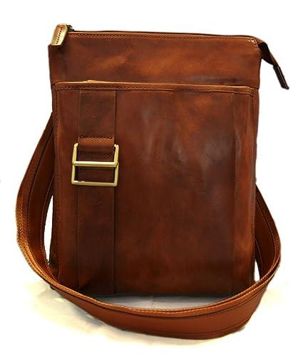 Amazon.com  Brown leather shoulder bag mens satchel women messenger leather  crossbody leather postman bag hobo bag italian leather  Handmade 426a2c5544fba