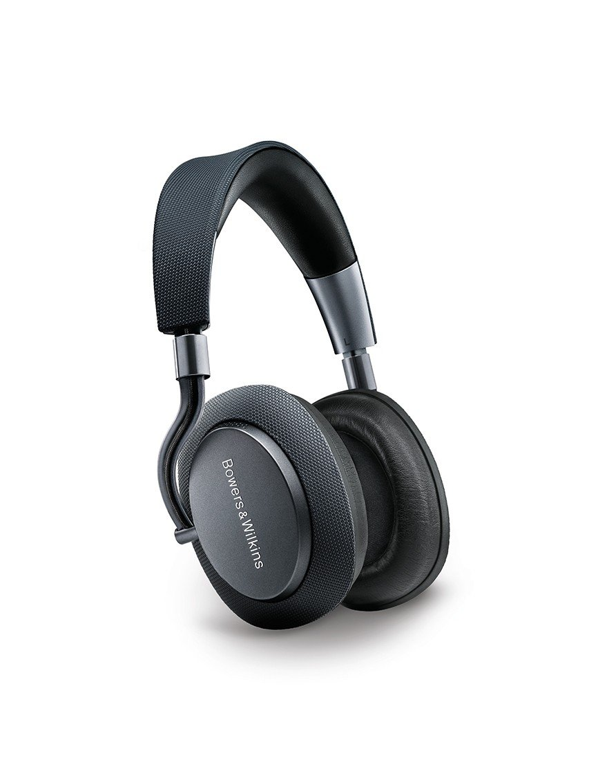 Bowers & Wilkins PX Active Noise Cancelling Wireless Headphones Best-in-class Sound, Space Grey by Bowers & Wilkins