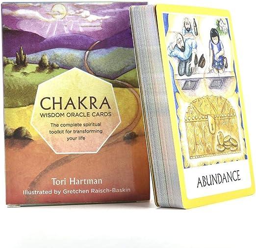 Euopat Cartas del Tarot, Juegos De Cartas para Niños, Chakra Tarot ...