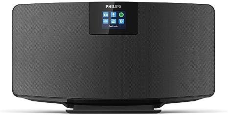 Philips M2805/10 Radio Internet, Despertador Radio (Dab+, WiFi, Bluetooth multisincronización, Spotify Connect, Función de Alarma, Sonido estéreo, Pantalla TFT) - Color Negro, Modelo de 2020/2021: Amazon.es: Electrónica