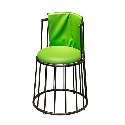 Pleasing Amazon Com Yingui Nordic Style Backrest Bar Chair Dailytribune Chair Design For Home Dailytribuneorg