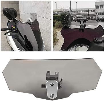 Artudatech Moto Parabrezza Anteriore Parabrezza Moto Deflettore Parabrezza Deflettori Windshield per KAWASA-KI Ninja 400 2018-2019