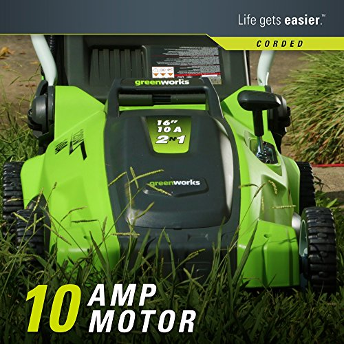 corded electric lawn mower