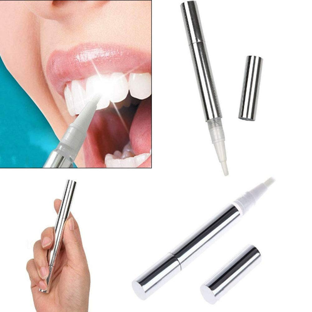 Dientes que blanquean la pluma, blanqueamiento de los dientes y gel que aclara Blanqueador Blanqueador del sistema del blanqueador quita las manchas ...