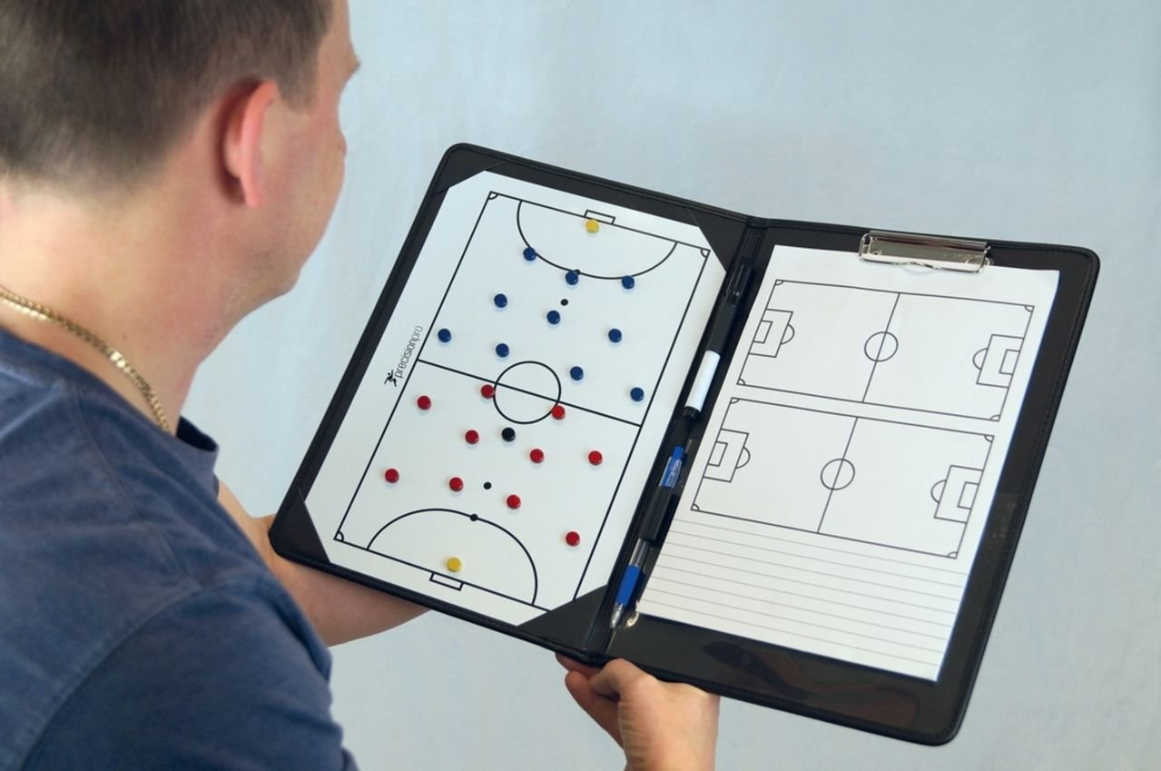 Precision Soccer Match Play Coaching Planner Pro Futsal Coaches Tactic Folder Precision Training
