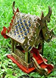 Thai Jeweled Carving Buddhism Spirit House Temple 8x6x6 Wholesale Price Made of Thailand