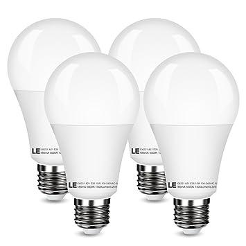 Le bombillas de 100 W equivalente A21 E26 bombillas LED, 15 W, 1500 lm