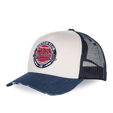 Von Dutch gorra de beisbol hombre Road azul: Amazon.es: Ropa y accesorios