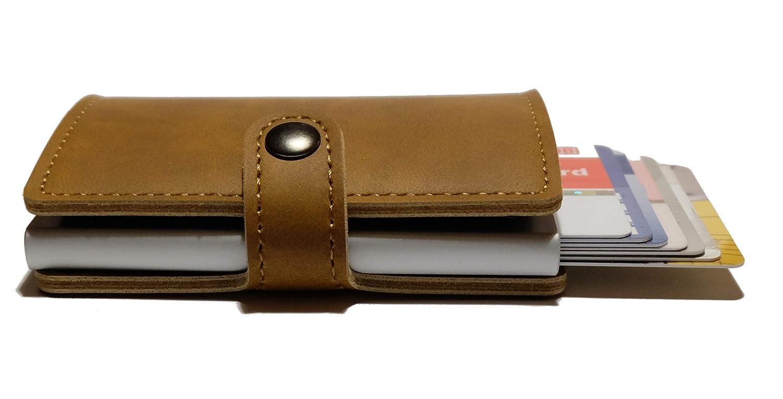 bd1decedce593 Igel Kreditkartenetui - Mini Geldb ö rse - Slim Wallet bis zu 10 Karten mit  RFID Schutz ...