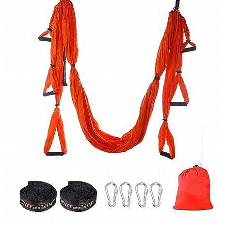 Amazon.com : Yamomo Yoga Hammock Yoga Studio Aerial Hammock ...
