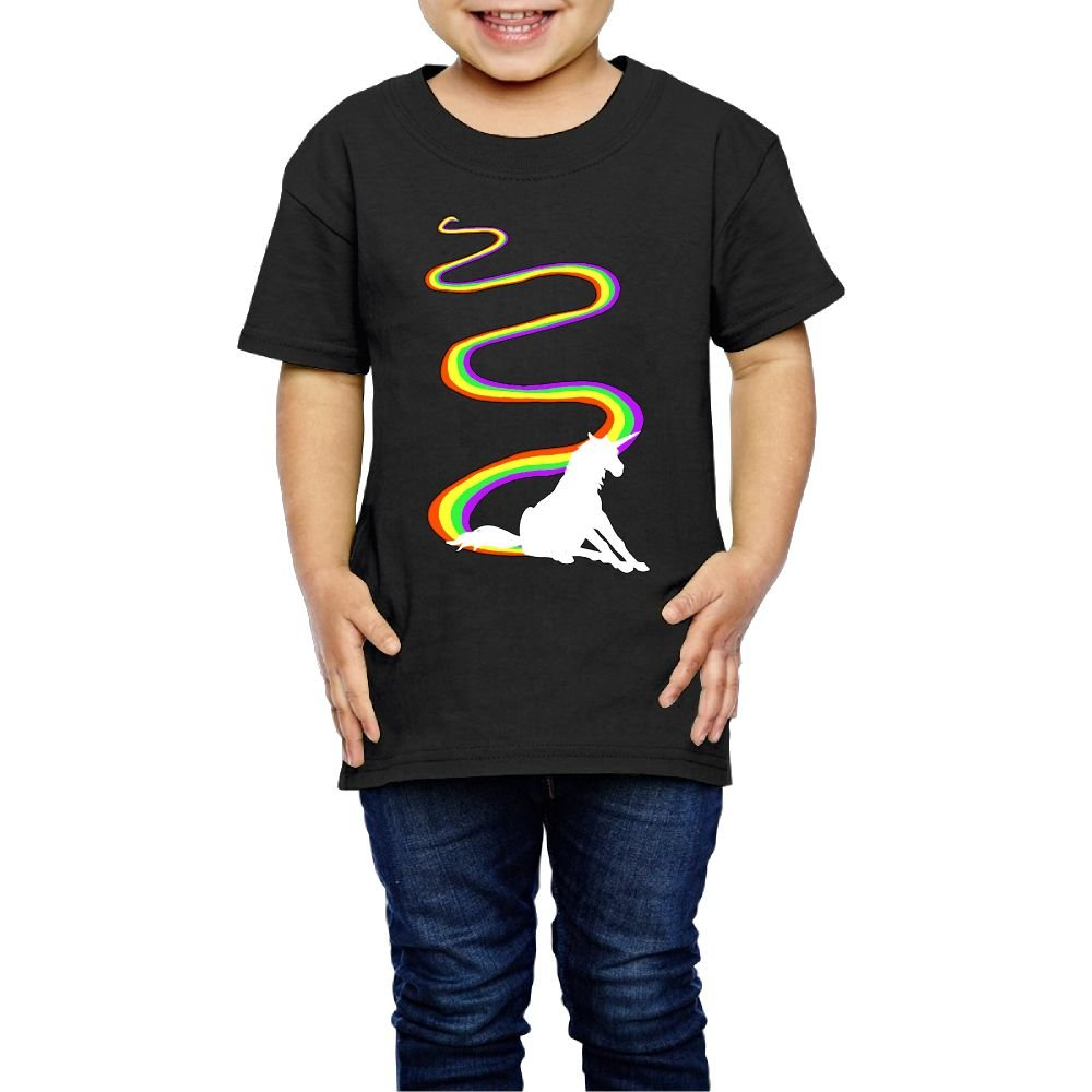 Shanala Have A Day Age 2-6 Childrens T-Shirts for Girls Boys Black