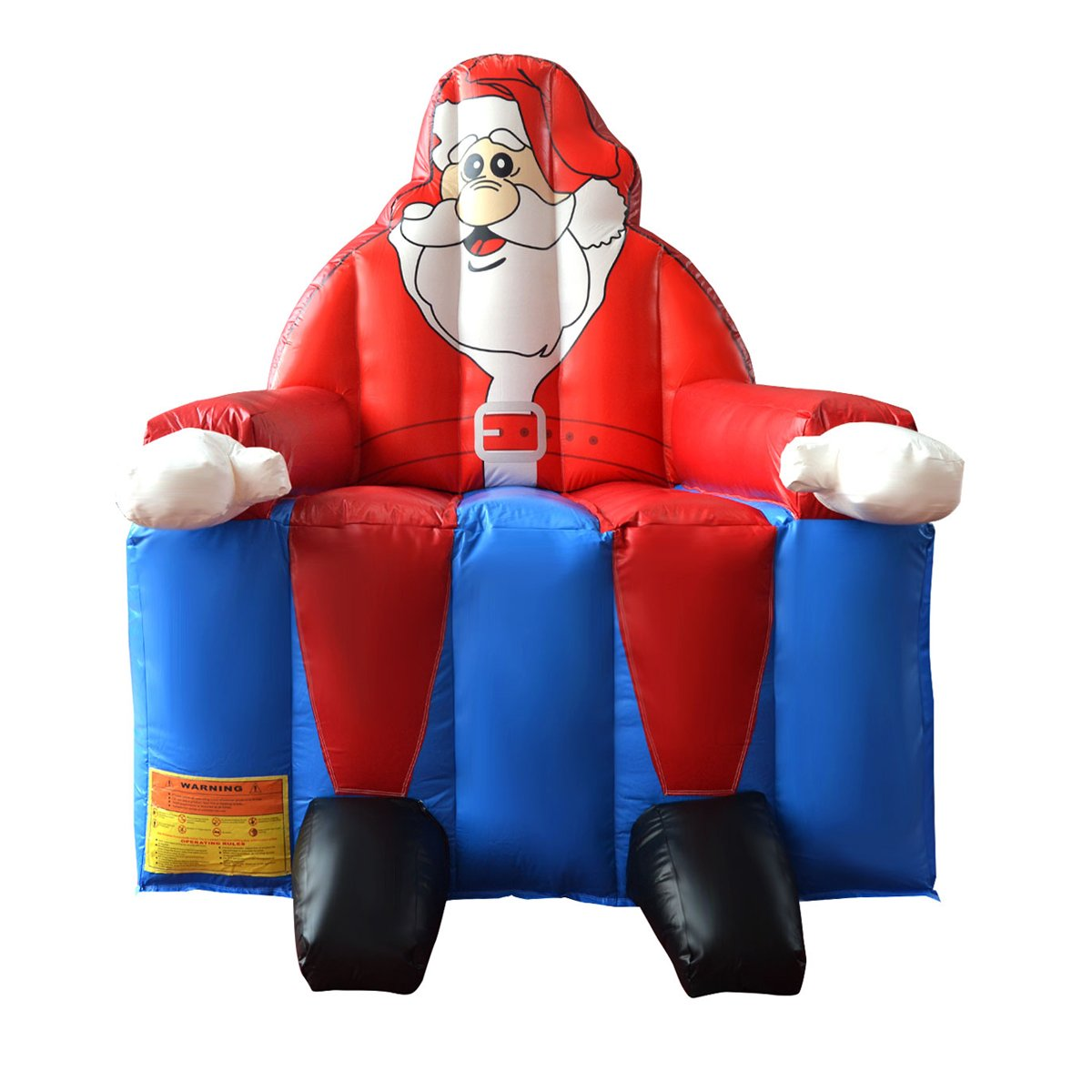 Inflatable Santa Claus Bounce House Castle Jumper Moonwalk Bouncer w/out Blower by Everyday Big Deal