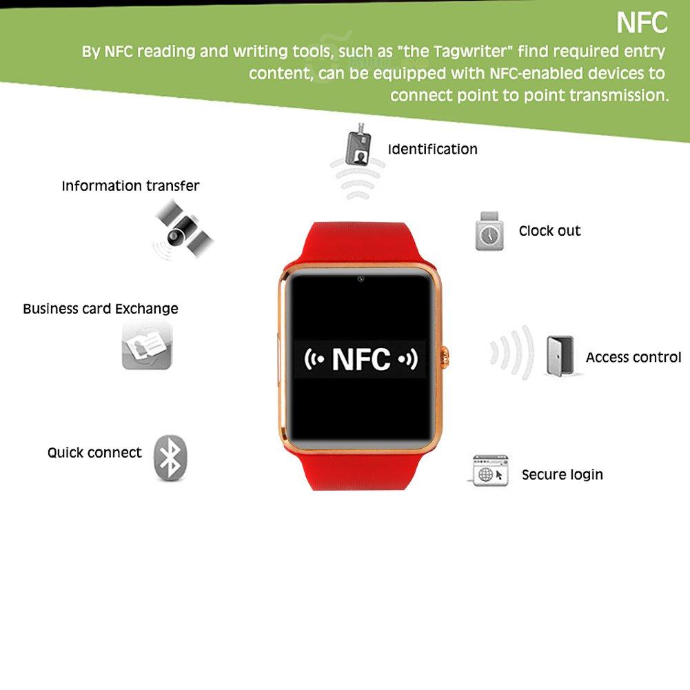Buyee® GT08 Bluetooth SmartWatch Handy-Uhr für: Amazon.de: Elektronik