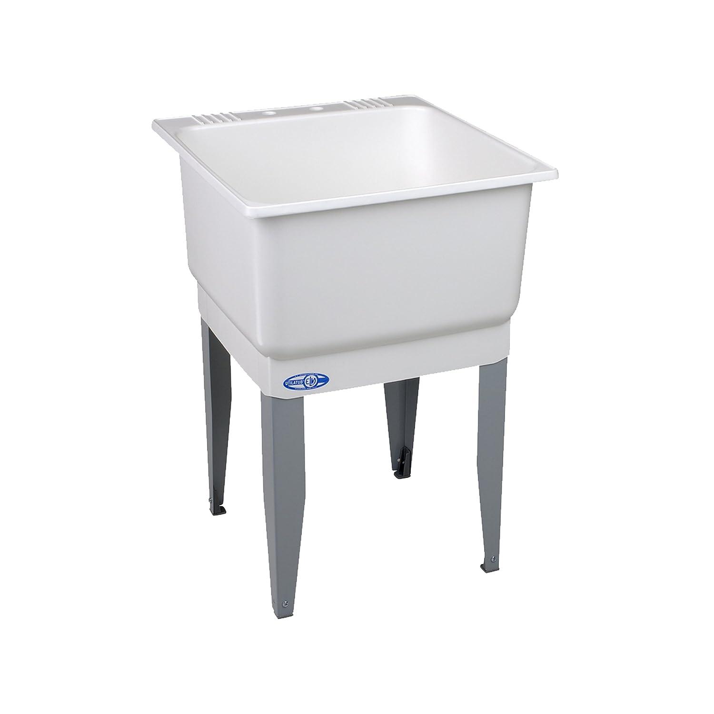 1. Mustee 14 Utilatub Laundry Tub