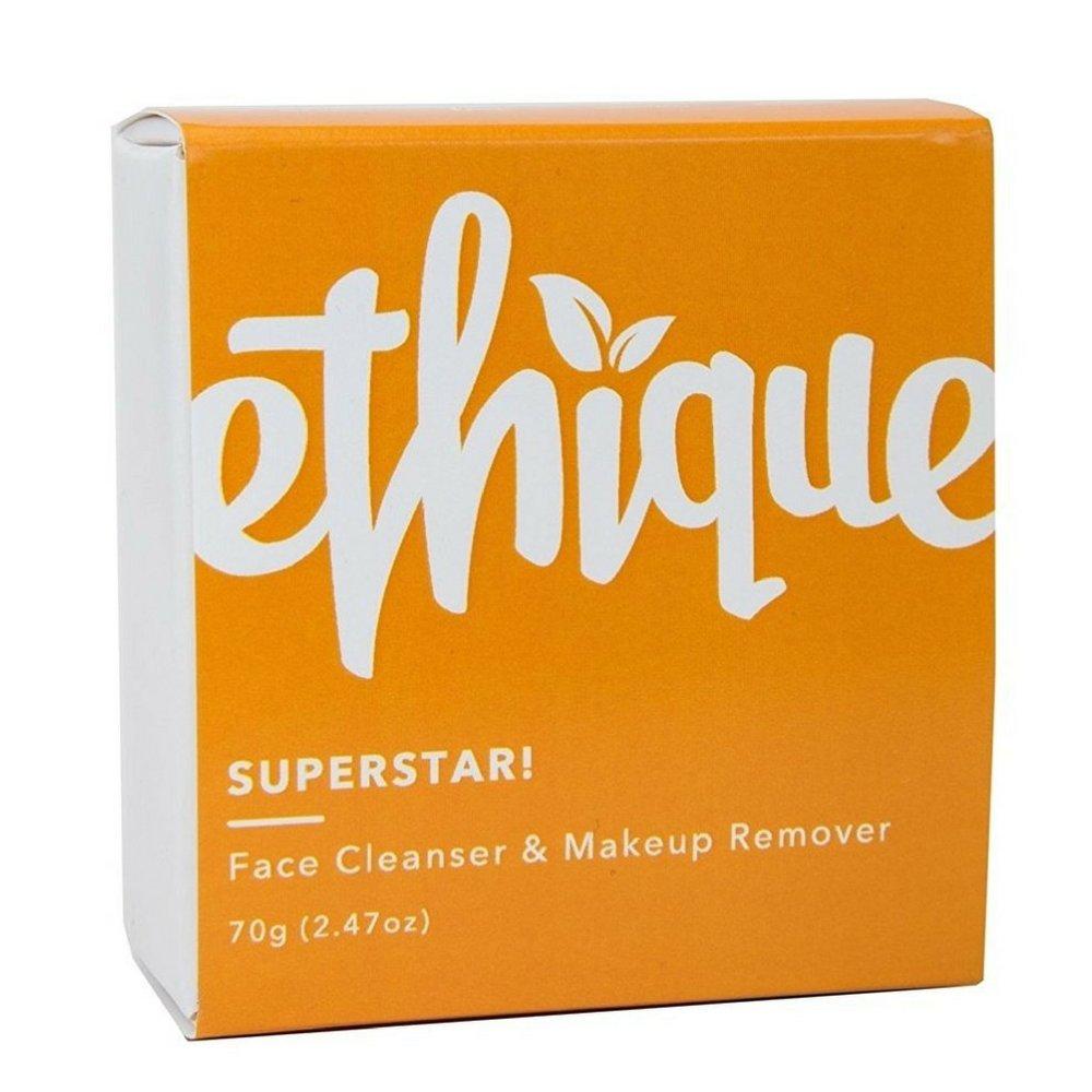 Ethique Face Cleanser & Makeup Remover, SuperStar! 2.47 oz by Ethique (Image #2)
