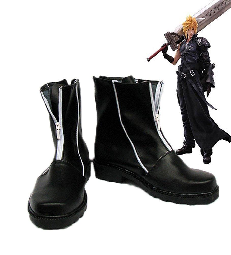 Final Fantasy VII FF7 Cloud Strife Cosplay Shoes Boots Custom Made 10 B(M) US Female