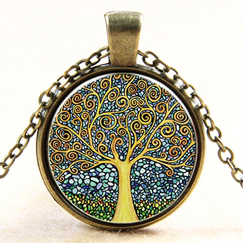 Tree of Life Pendant Necklace.
