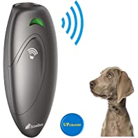 BossBee Ultrasonic barking control Dog bark control Bark trainer Anti barking device Handheld ultrasonic dog bark deterrent with Wrist StrapNo bark devicesBarking dog deterrentBark controller