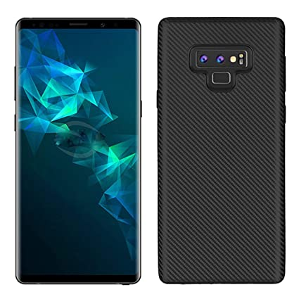 superior quality abaa8 56a8d Amazon.com: BeautyWill Galaxy Note 9 Carbon Fiber Case, Durable TPU ...