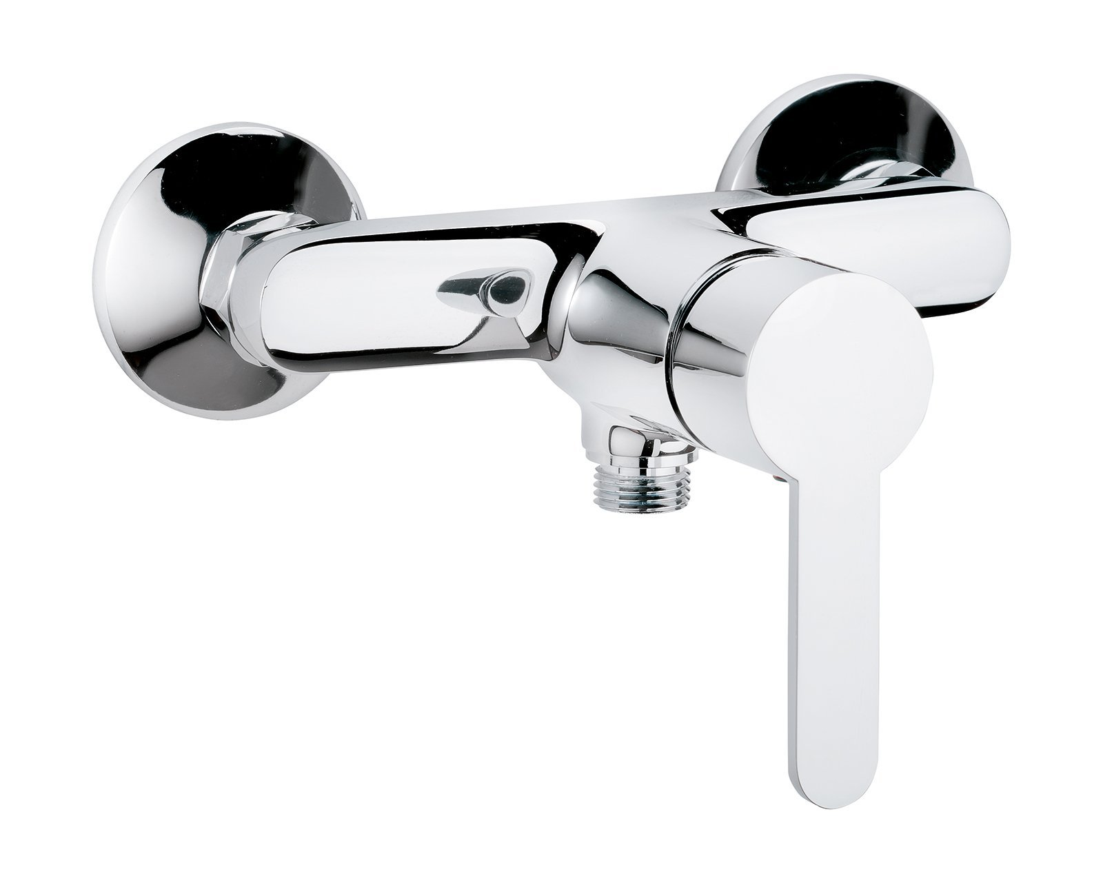 Jetmix Style Single-Handle Mixer Tap for Shower Chrome by AquaSu (Image #1)