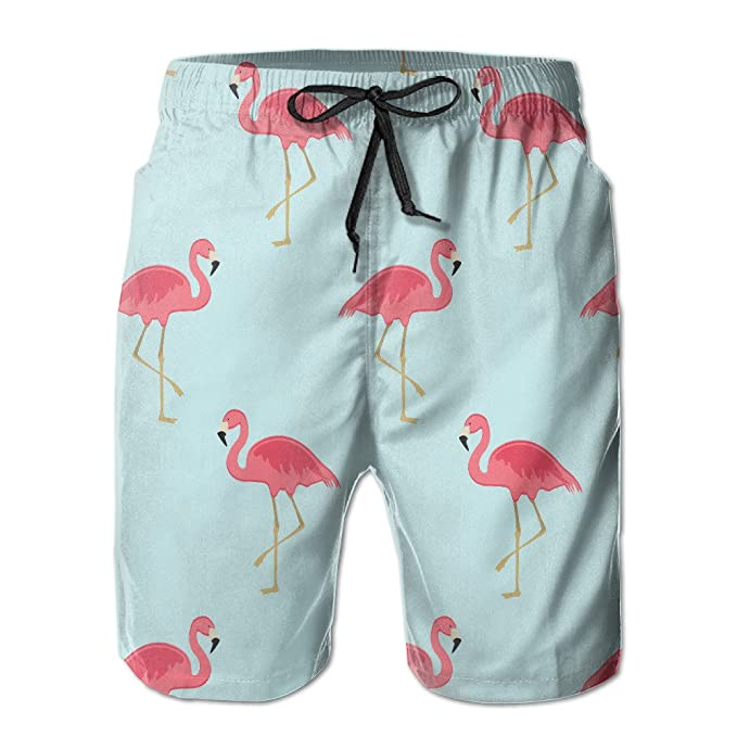 Flamingo Short Of Xxl Swimwear For Men Trousers Beach Pants Crochet