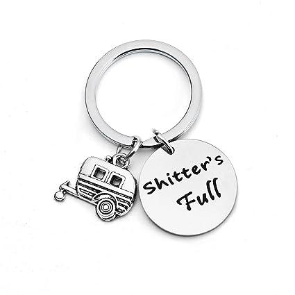 Shitters - Llavero completo de campamento feliz para ...