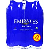 Emirates Drinking Water 1.5 Litre, Pack of 2 x 6 (12 Bottles)